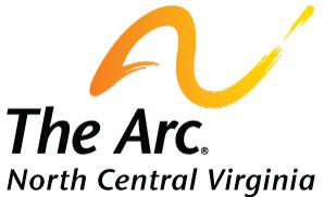 Arc of North Central Virginia Black Text Logo