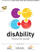 disAbility Resource Guide flyer, The Arc of North Central Virginia