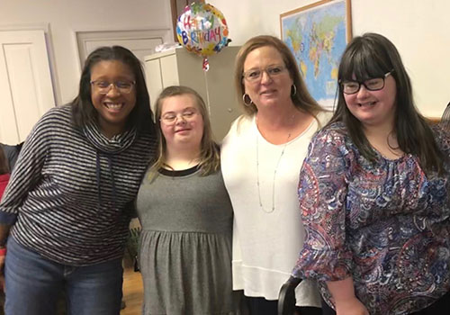 COSA Birthday Club Photo, The Arc of North Central Virginia
